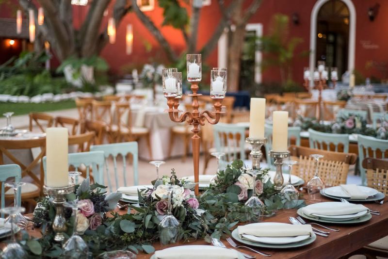 wedding details at hacienda