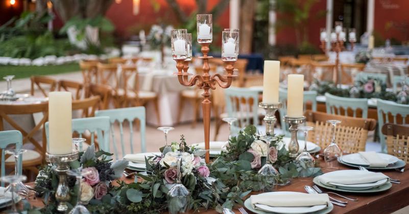 Detalles en boda en Mérida