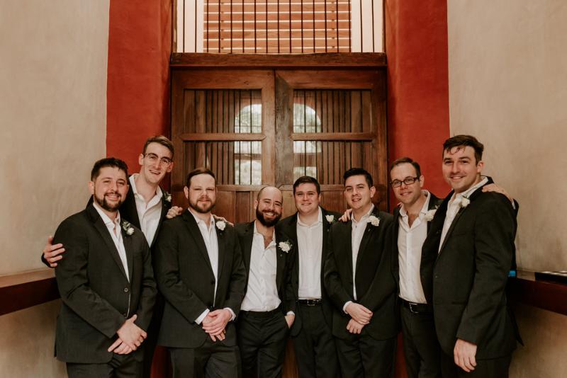 Mens in wedding