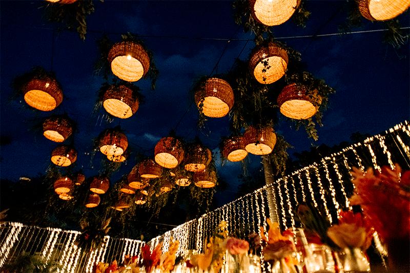 wedding decoration in yucatan