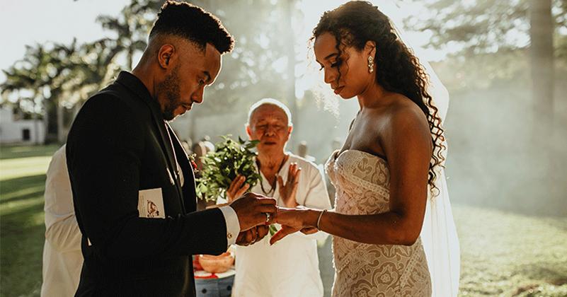 ceremonia maya en boda destino